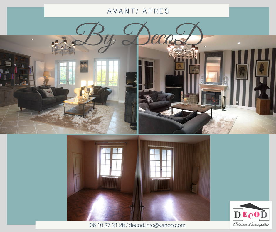 avant apres transformation renovation chambres salon