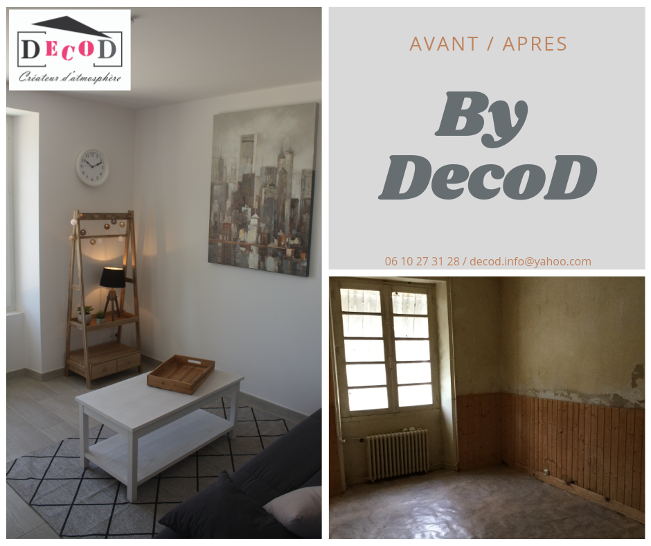 avant apres travaux renovation studio