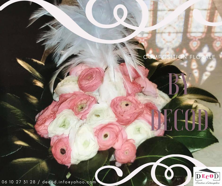 Décoration évenementielle Composition Florale Mariage