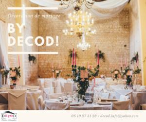 Décoration événementielle, Mariage, Décoration salle, Romantique, Féérique, Château, Fleurs, Centres de table