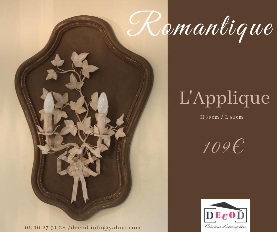 Applique Romantique 109€