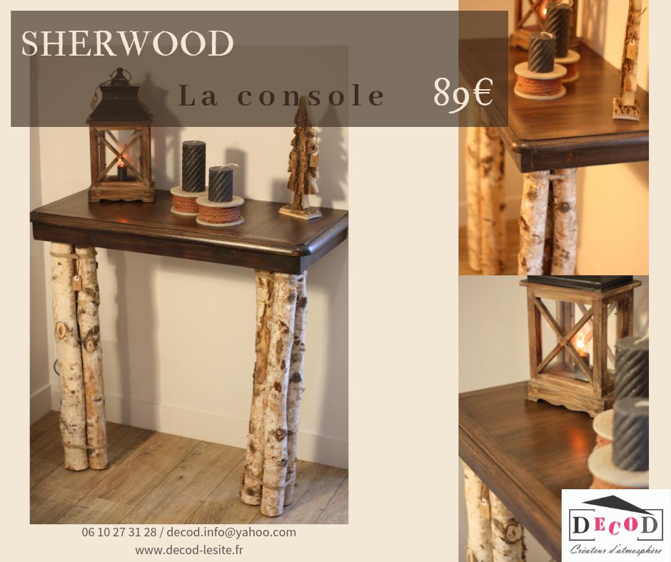 Console Sherwood 89€