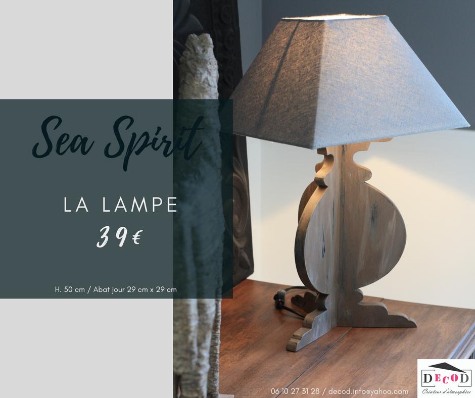 Lampe Sea Spirit 39€