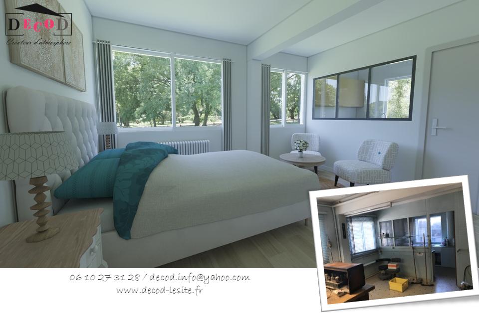 Projet de transformation d'un atelier en appartement (2020)