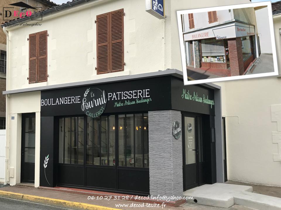 Rénovation d'une boulangerie (2020)