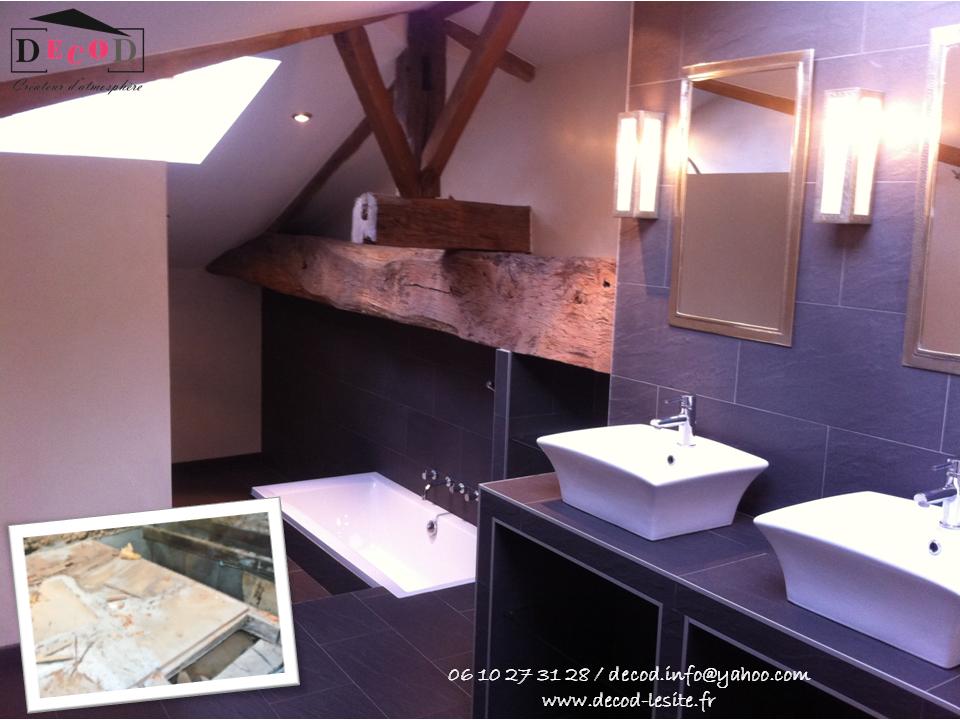 Création d'une salle de bain dans un grenier (2011)