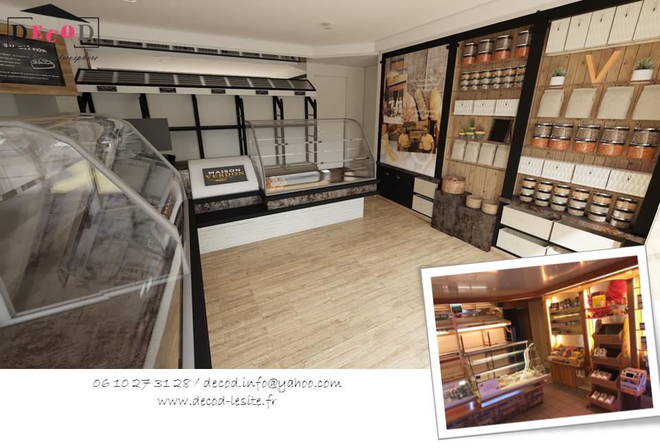 Projet de rénovation d'une boulangerie (2020)