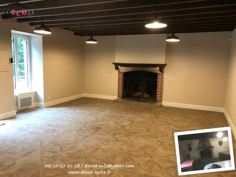 Rénovation d'une salle de réception (2019)