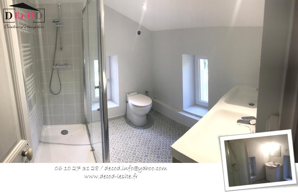 Rénovation d'une salle de bain (2018)