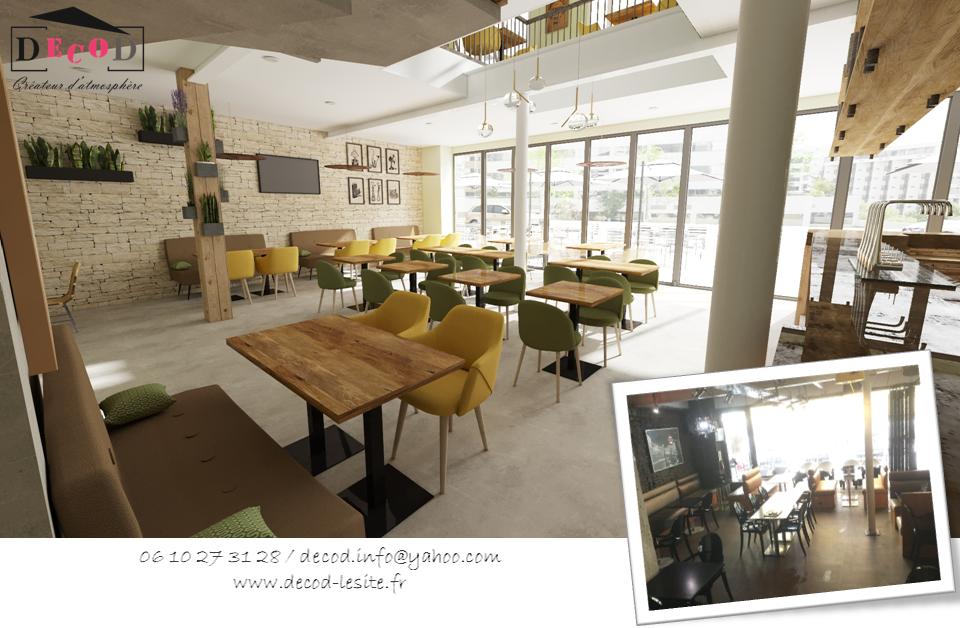 Projet de rénovation d'un bar/brasserie (2020)