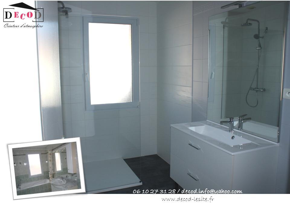 Rénovation d'une salle de bain (2018