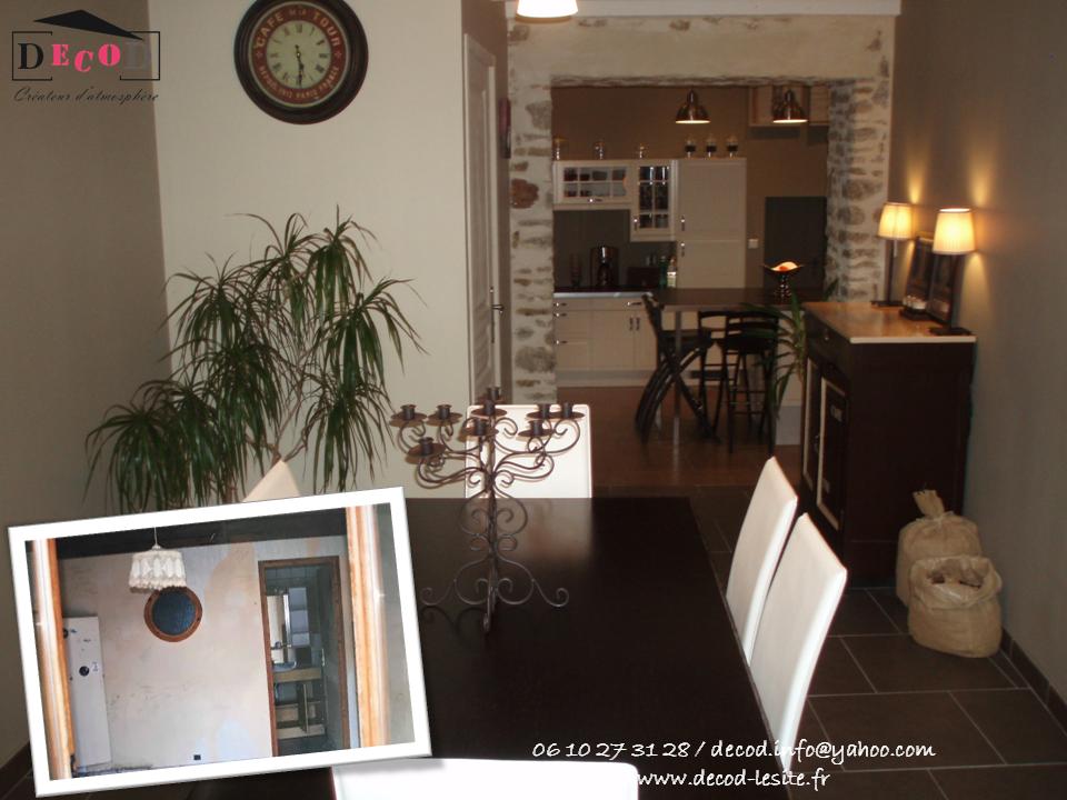 Transformation d'une chambre en salle à manger (2010)