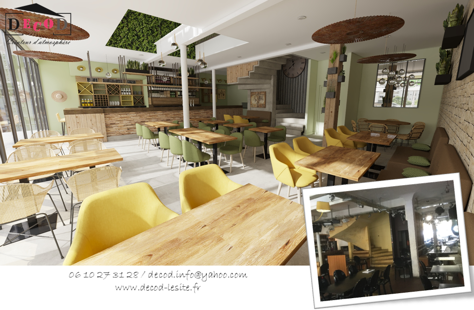Projet de rénovation d'un bar/brasserie