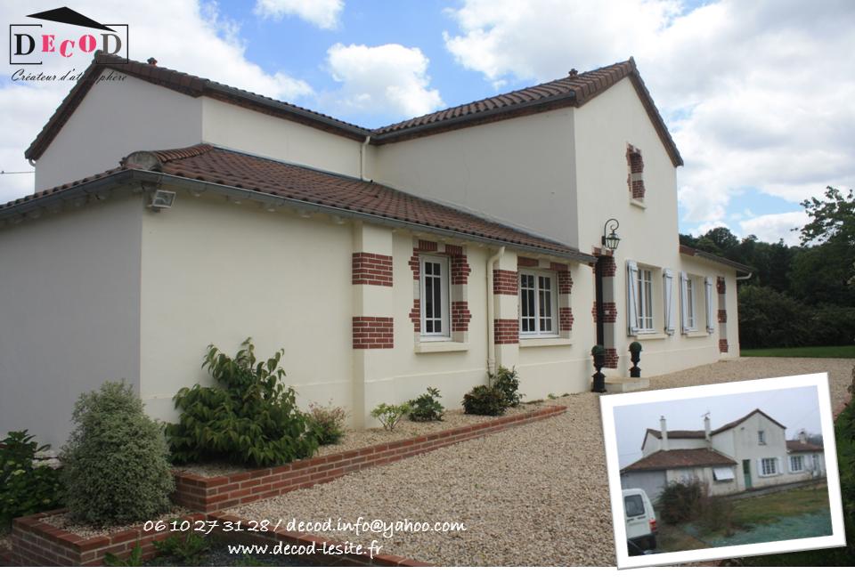 Rénovation d'une maison d'habitation (2016)