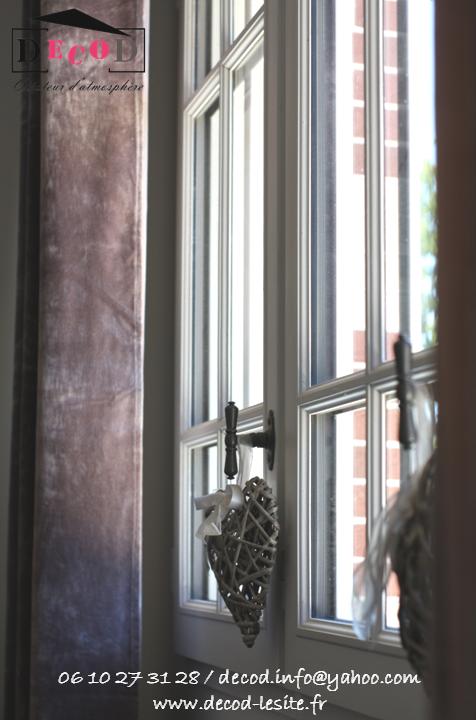 Petite touche déco aux fenêtres