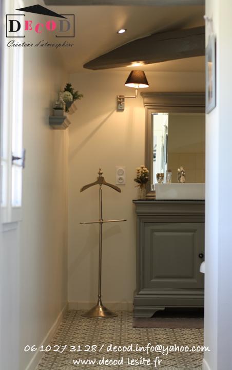 Décoration d'une salle de bain (2015)