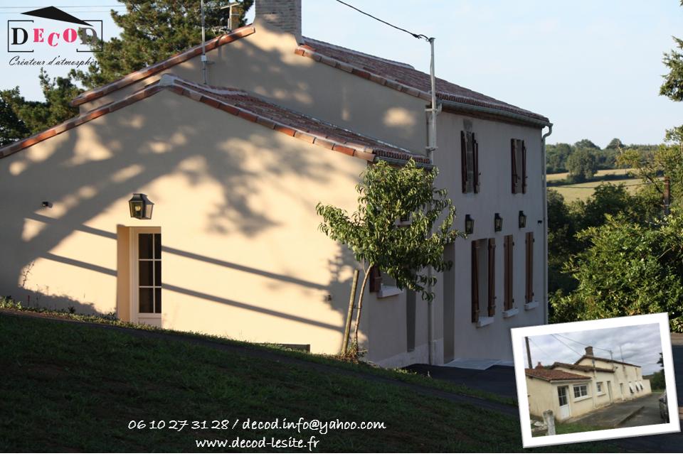 Rénovation d'une maison d'habitation (2018)