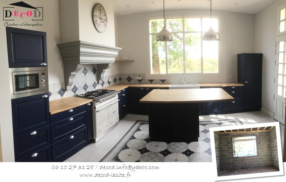 Aménagement d'une cuisine (2018)