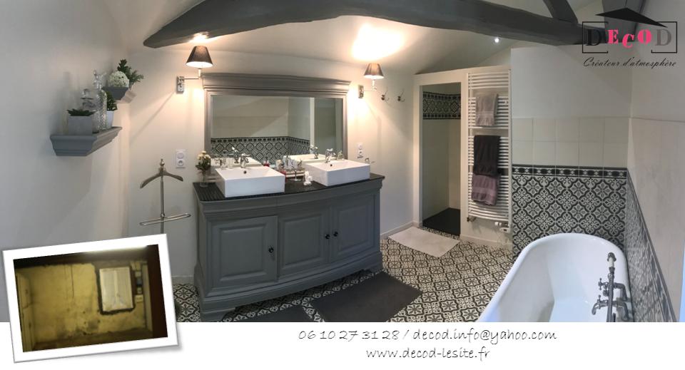 Transformation d'une chaufferie en salle de bain (2015)
