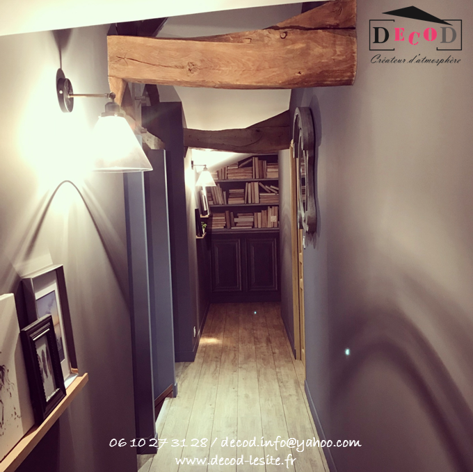 Décoration d'un couloir (2019)